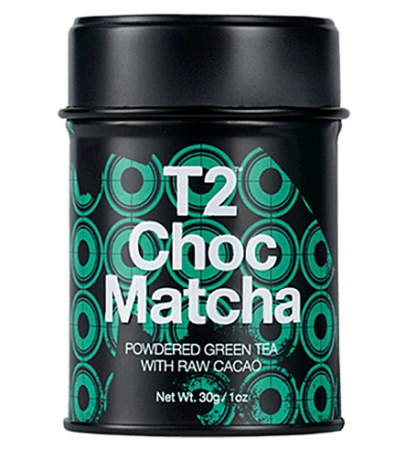 T2 TEA Choc matcha 30g tin
