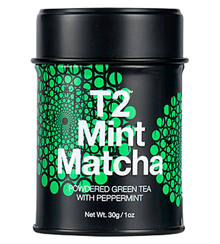 T2 TEA Mint matcha tea 30g