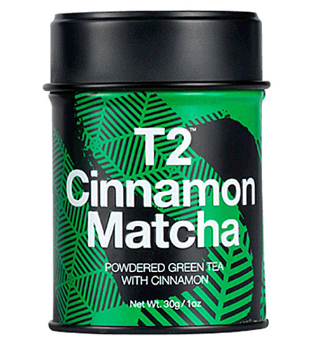 T2 TEA Cinnamon matcha tea 30g