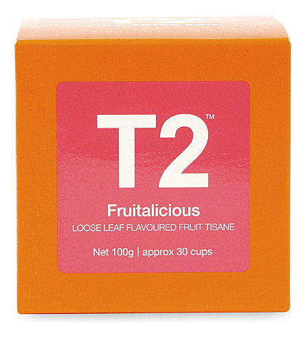 T2 TEA Fruitalicious loose-leaf gift cube 100g