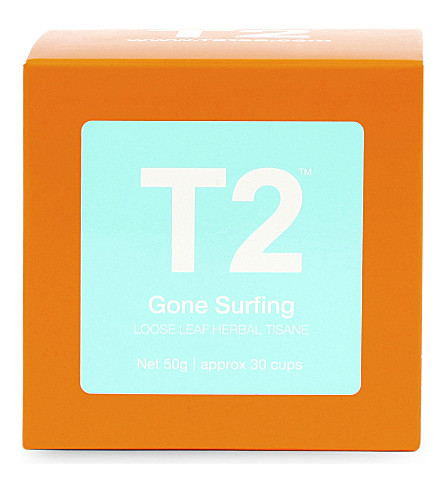 T2 TEA Gone Surfing loose-leaf gift cube