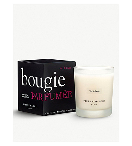 PIERRE HERME Vert de Cassis scented candle