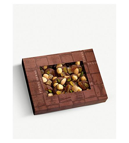 PIERRE HERME Milk chocolate mendiants 200g
