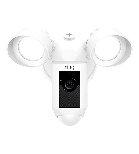 RING Floodlight Camera (White