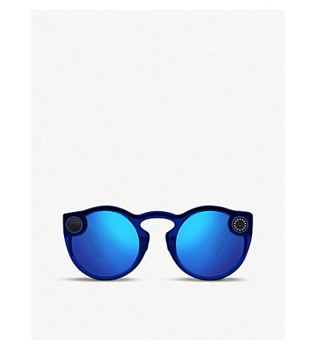 e2ed191c03 ... SPECTACLES Snap Inc. sunglasses with built-in camera  (Sapphire+twilight. PreviousNext