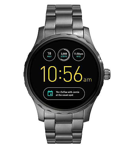 FOSSIL FTW2108 Q Marshal stainless steel smart watch