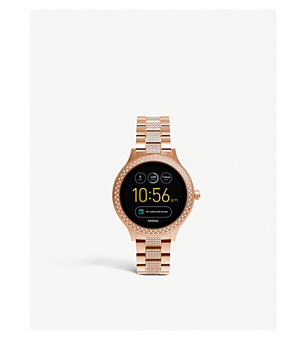 FOSSIL FTW6008 Q Venture stainless steel smartwatch