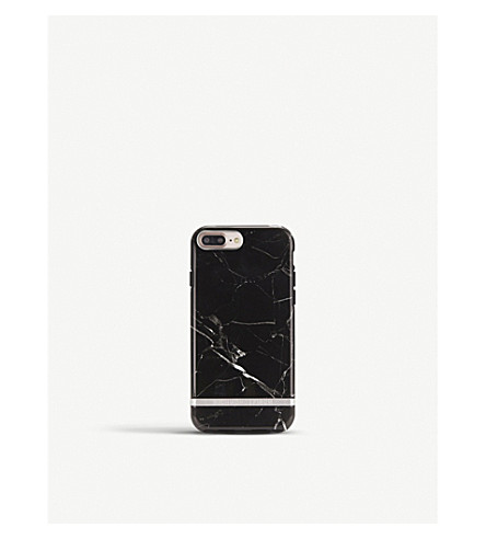 RICHMOND AND FINCH iPhone black marble case