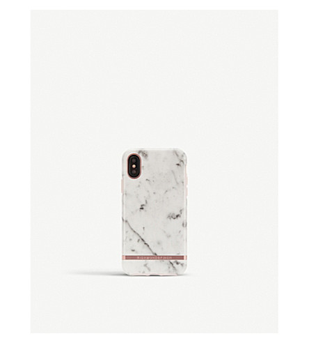 RICHMOND AND FINCH iPhone white marble case