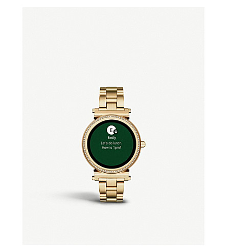 MICHAEL KORS Sofie stainless steel smartwatch
