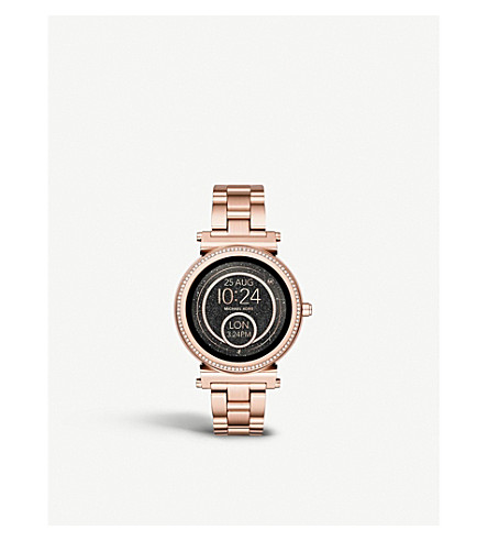MICHAEL KORS Access Sofie stainless steel smartwatch