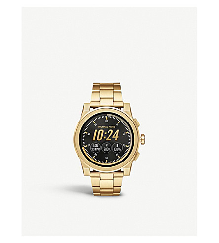MICHAEL KORS Grayson stainless steel smartwatch