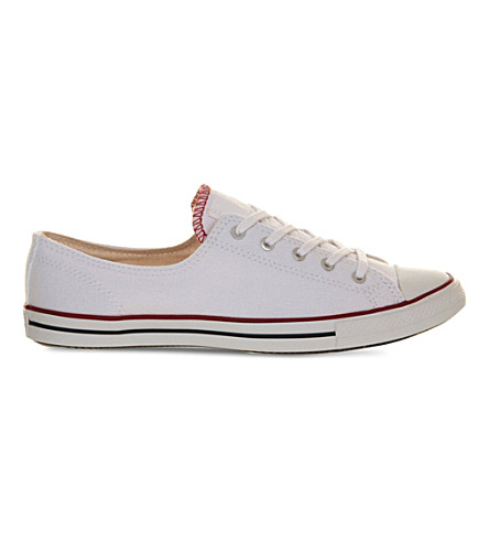 CONVERSE Ctas Fancy low-top trainers (Optical white