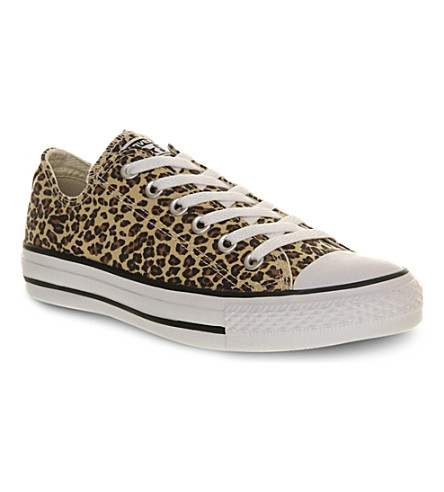 CONVERSE All Star low-top trainers (Leopard