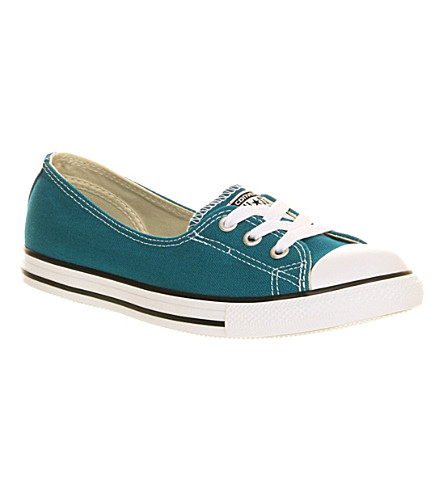 CONVERSE Dance Lace low-top trainers (Lagoon moon blue