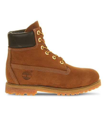 TIMBERLAND Earthkeepers 6-Inch Premium boots (Rust+nubuck