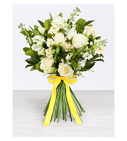 SELFRIDGES SELECTION FLOWERS Mixed White Spring Bouquet