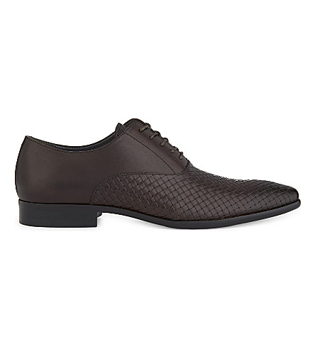 ALDO Piccadilly leather Oxford shoes (Brown