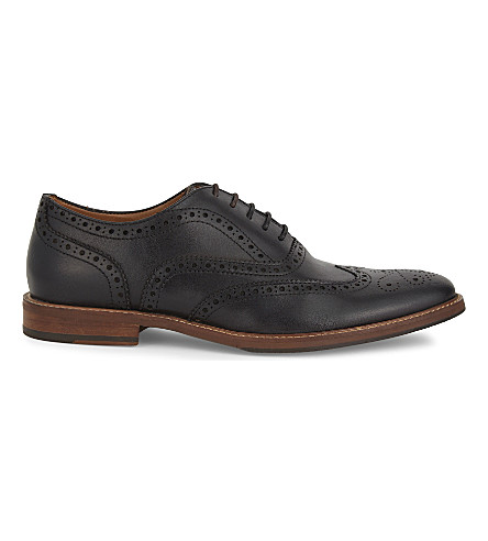 ALDO Bartolello leather Oxford shoes (Black+leather