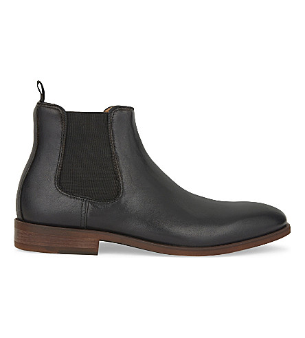 ALDO Croaven leather Chelsea boots (Black+leather