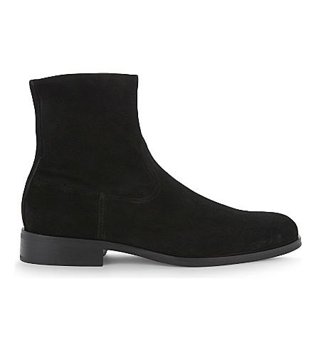 ALDO Eclause suede boots (Black+suede