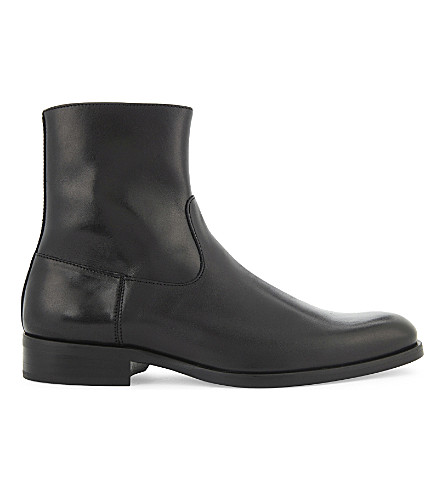 ALDO Eclause leather boots (Black leather