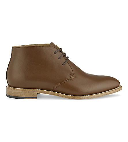 ALDO Grauniel leather Chukka boots (Light+brown