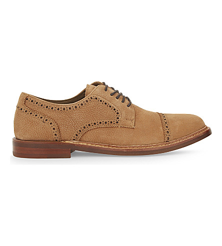 ALDO Derrade leather derby shoes (Rust