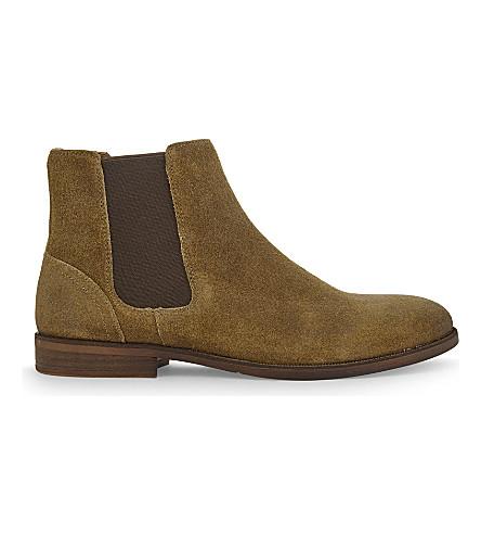 ALDO Acaudia leather Chelsea boots (Beige