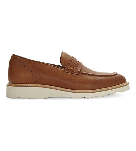 ALDO Jauquet leather loafers (Cognac