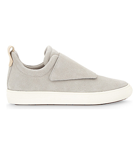 ALDO Forsivo leather trainers (Grey