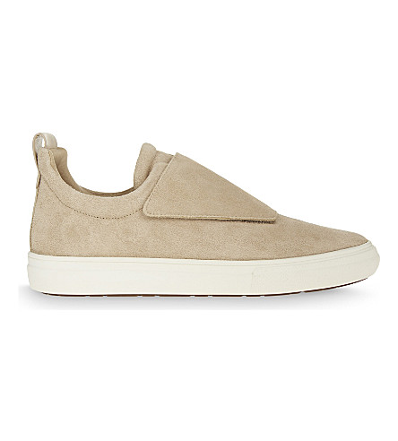 ALDO Forsivo suede low-top trainers (Cognac