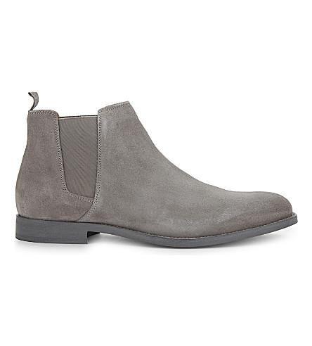 ALDO Vianello-R suede Chelsea boots (Grey