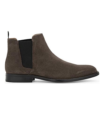 ALDO Vianello R suede Chelsea boots (Dark+grey