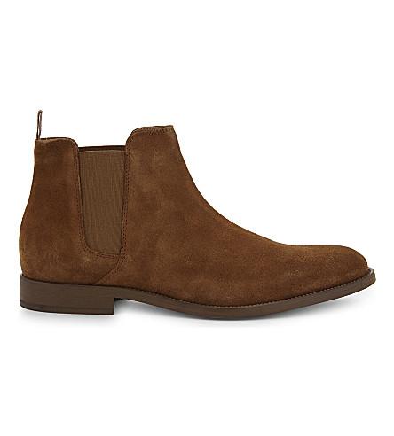 ALDO Vianello-R suede Chelsea boots (Medium+brown