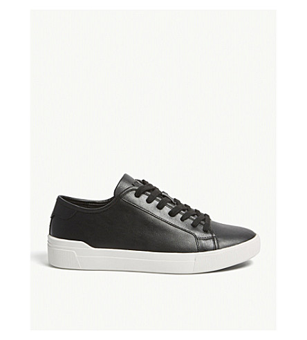 ALDO Haener trainers (Black+leather
