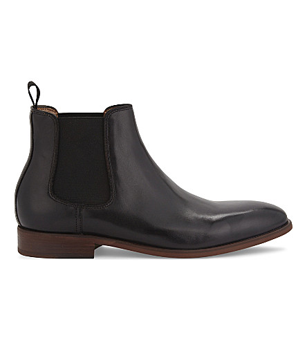 ALDO Croaven -r leather Chelsea boots (Black+leather