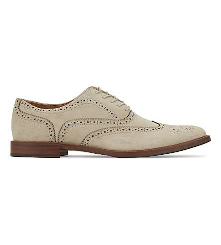ALDO Bartolello-R suede Oxford shoes (Beige