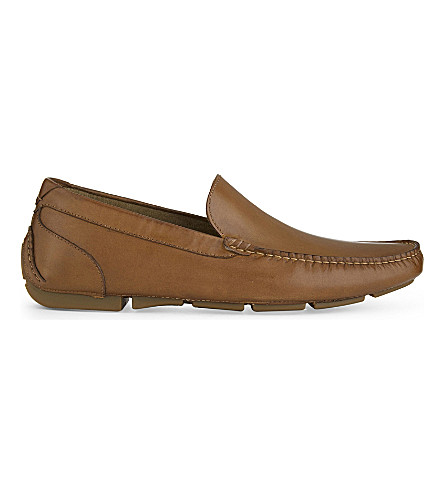 ALDO Giangrande leather loafers (Cognac