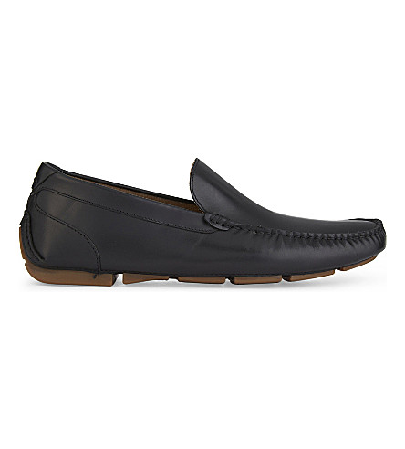 ALDO Giangrande leather loafers (Black+leather