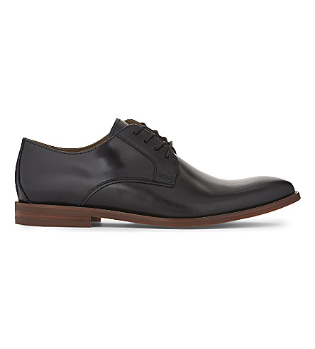 ALDO Yilaven leather Derby shoes (Black+leather