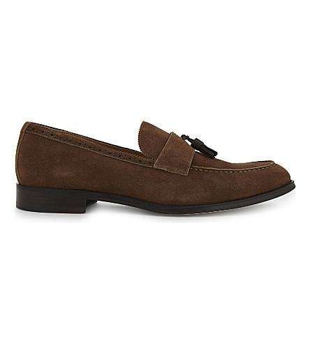 ALDO Grisello suede loafers (Brown+suede