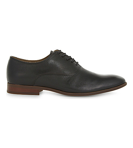 ALDO Aselan leather Derby shoes (Black+leather