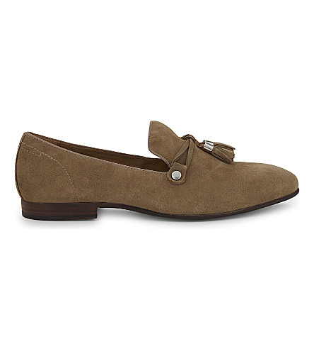 ALDO McCrery suede loafers (Beige