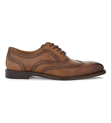 ALDO Etiraniel leather brogues (Cognac