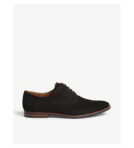 ALDO Wen-R suede Oxford shoes (Black+suede