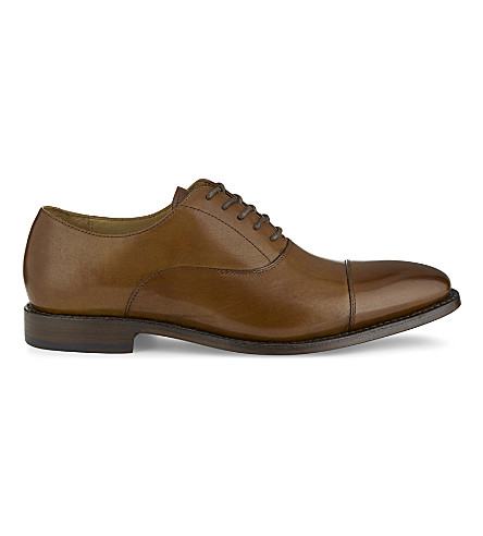 ALDO Nadief leather Oxford shoes (Cognac