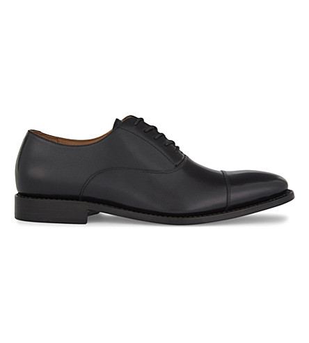 ALDO Nadief leather Oxford shoes (Black+leather