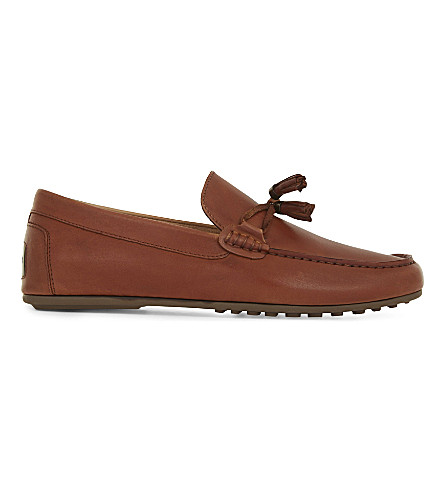 ALDO Freinia leather loafers (Cognac