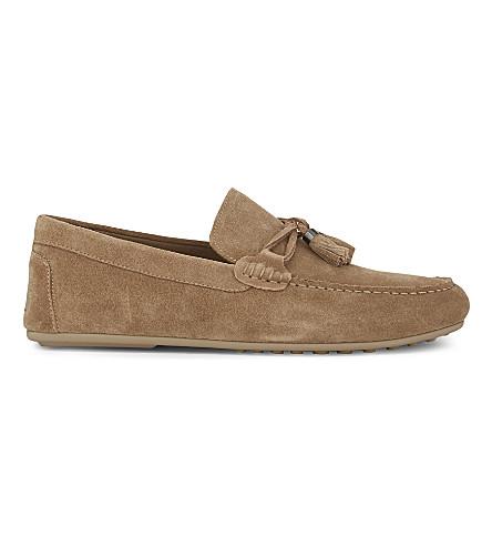 ALDO Freinia suede loafers (Beige